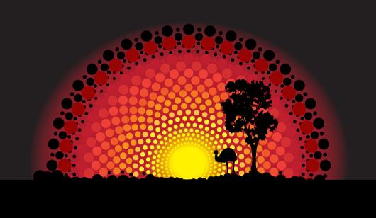 Aboriginal Design Wallpaper : Wanslea working with aboriginal people